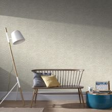 Graham & Brown Taupe zebra wallpaper