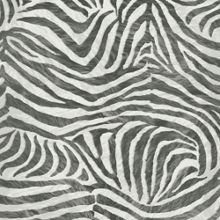 Graham & Brown Black/white zebra wallpaper