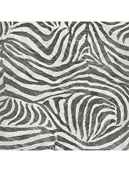 Black/white zebra wallpaper