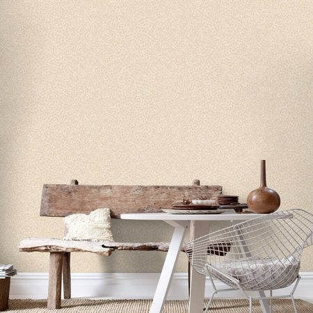 Graham & Brown Peach ostrich wallpaper