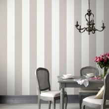 Graham & Brown Natural Calico Stripe Wallpaper
