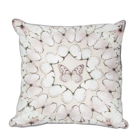 Graham & Brown Neutral butterfly array cushion