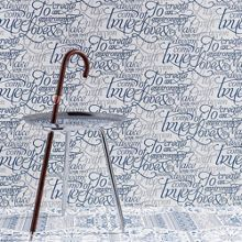 Graham & Brown Blue & white dreams come true wallpaper