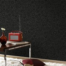 Graham & Brown Black petit pappilon wallpaper