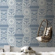 Graham & Brown Blue & white world heritage wallpaper