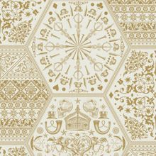 Gold world heritage wallpaper
