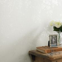 Graham & Brown Cream Shimmer Spring Blossom Wallpaper