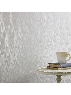 Silver Mist Silken Stria Wallpaper