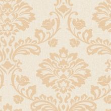 Graham & Brown Cream/Sand Aurora Wallpaper