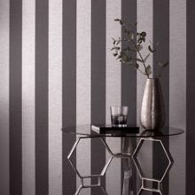 Graham & Brown Black/Grey Ariadne Wallpaper