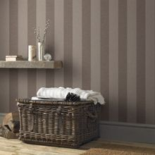 Graham & Brown Chocolate Ariadne Wallpaper