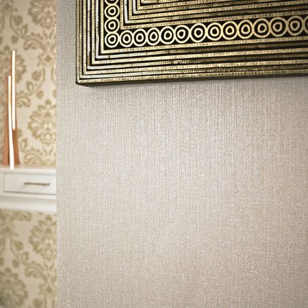 Graham & Brown Beige Rhea Wallpaper