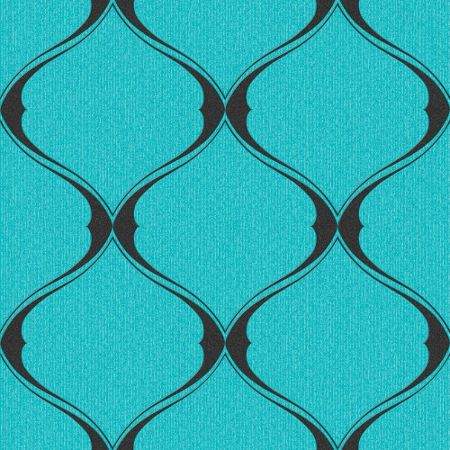 Graham & Brown Turquoise Olympus Wallpaper