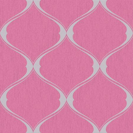 Graham & Brown Hot Pink Olympus Wallpaper