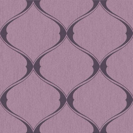 Graham & Brown Plum Olympus Wallpaper