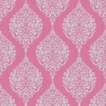 Graham & Brown Hot Pink Luna Wallpaper