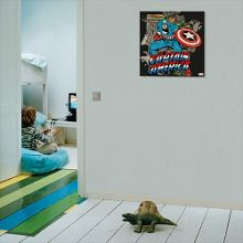 Graham & Brown Marvel Captain America Canvas