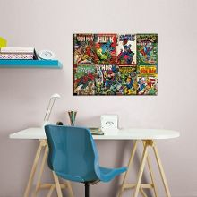 Marvel Comic Front Collection Canvas