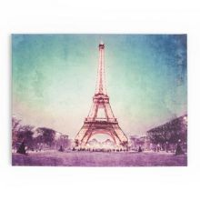 Paris At Dusk Printed Canvas