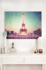 Graham & Brown Paris At Dusk Printed Canvas