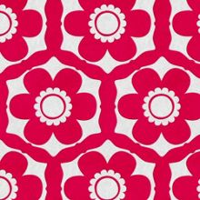 Graham & Brown Pink Funky Flora Wallpaper