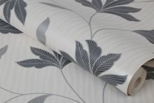 Graham & Brown Silver Alannah Wallpaper