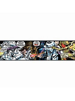 Star Wars Cartoon Wallpaper Border
