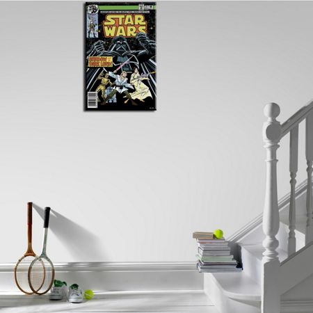 Graham & Brown Star Wars Shadow of a Dark Lord Comic Canvas