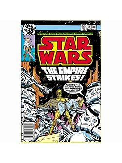 Star Wars The Empire Strikes Comic Canvas