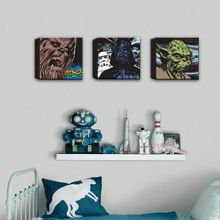 Graham & Brown Star Wars Comic Set of Three Canvas