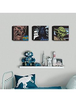 Star Wars Comic Set of Three Canvas