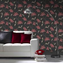 Graham & Brown Red Alannah Wallpaper