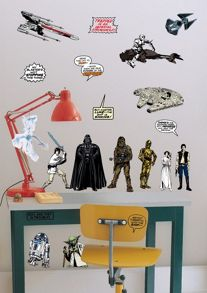Graham & Brown Star Wars Kids Bedroom Wall Stickers