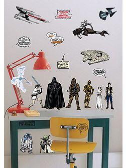 Star Wars Kids Bedroom Wall Stickers