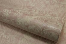 Graham & Brown Pink / White Burlesque Wallpaper