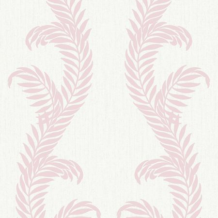 Graham & Brown Pink / White Venus Wallpaper