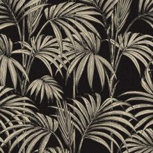 Graham & Brown Black / Gold Honolulu Wallpaper