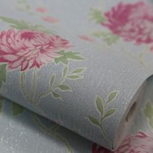 Graham & Brown Blue / Pink Exotica Wallpaper