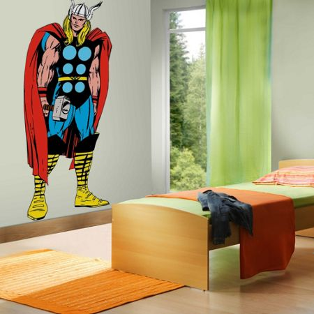 Graham & Brown Marvel Life Size Thor Wall Sticker