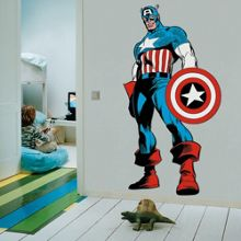 Graham & Brown Marvel Captain America Wall Sticker