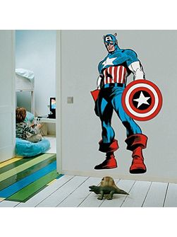 Marvel Captain America Wall Sticker