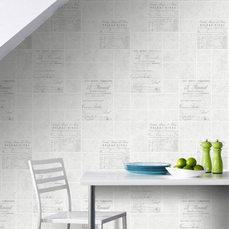 Graham & Brown Grey Parisienne Wallpaper