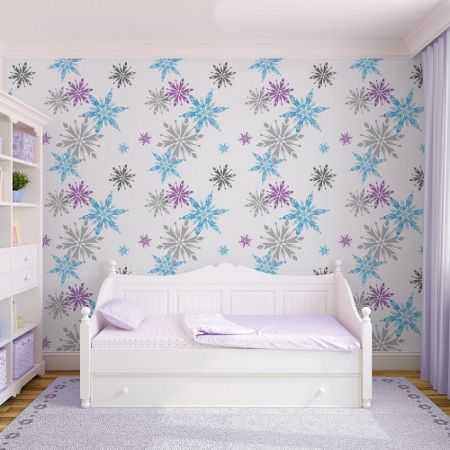 Disney Frozen Disney Frozen Snowflake Wallpaper