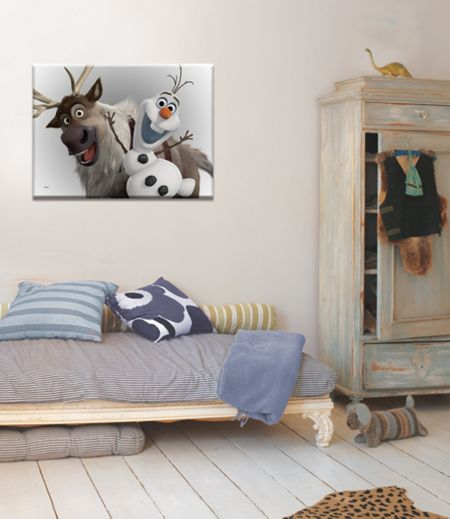 Graham & Brown Disney Frozen Olaf & Sven Printed Canvas