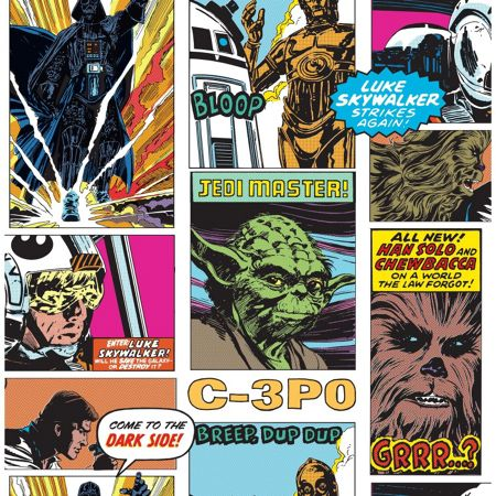 Graham & Brown Star Wars Film Movie Pop Art Collage Wallpaper