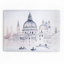 Venice View Printed Canvas