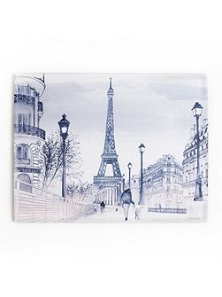 Parisian Street Printed Canvas