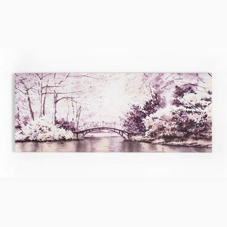 Graham & Brown Forest Bridge Printed Canvas
