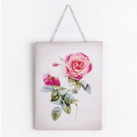 Graham & Brown Pink Botanical Bloom Printed Canvas