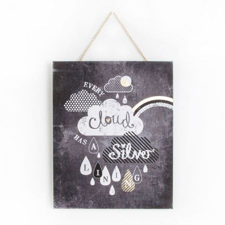 Graham & Brown Every Cloud Printed Canvas